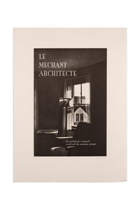 Le méchant architecte - Martine Aballéa
