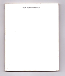 (EVERY BUILDING ON) THE SUNSET STRIP - Ed Ruscha