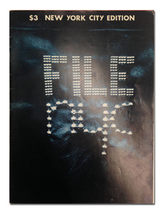 FILE Magazine : Vol. 3 N°2 NEW YORK CITY EDITION -  General Idea