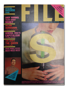 FILE Magazine : Vol. 5 N°1  $uce$$ -  General Idea