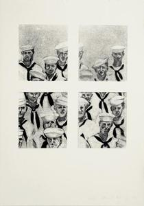 Sailors - Richard Artschwager